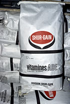 Vitamin feed sack