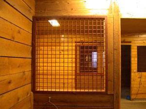 Horse Stall Front Grate