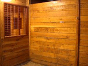 Horse Stall Partition