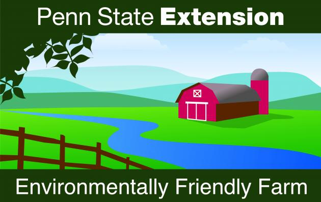 penn state extension environmental friendly farm sign